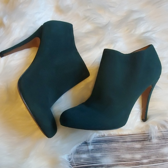 Aldo Shoes - Aldo green booties